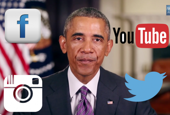 Obama Says Social Media Magnifies the Dangers of a 'Messy' World