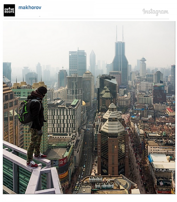 Meet the daredevil photographers racking up thousands of Instagram followers