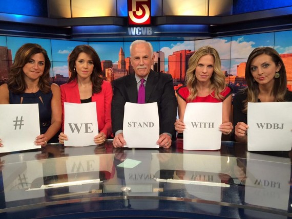 Journalists Pay Tribute to of the WDBJ Shooting